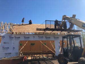 Framing for New Construction project